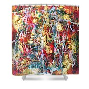 Live To Give Shower Curtain