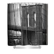 Live Wire Shower Curtain