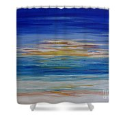 Lively Seascape Shower Curtain