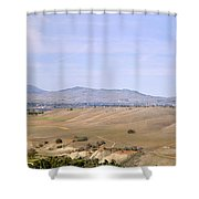 Livermore Valley Panorama Shower Curtain