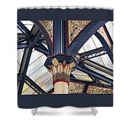 Liverpool Street Skylight Shower Curtain