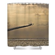 Livin On The Edge Shower Curtain
