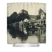 Livingston Manor - 1938 Flood Shower Curtain