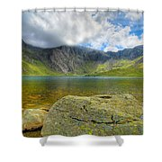 Llyn Idwal Shower Curtain