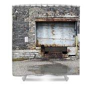 Loading Dock Door 1 Shower Curtain