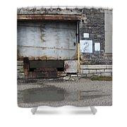 Loading Dock Door 2 Shower Curtain