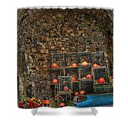 Lobster Pot Arch Shower Curtain