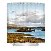 Loch Ba View Shower Curtain