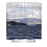 Loch Lomond - Pano1 Shower Curtain