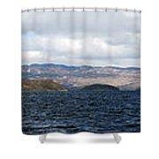 Loch Lomond - Pano2 Shower Curtain