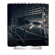 Lock 23 Shower Curtain