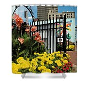 Lock 3   Shower Curtain