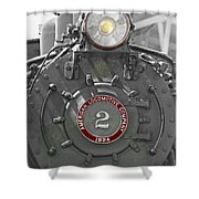 Locomotive 2 Shower Curtain