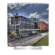 Locomotive II Shower Curtain