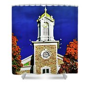 Logan Utah Lds Tabernacle Shower Curtain