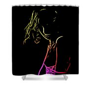 Lolita Color Shower Curtain