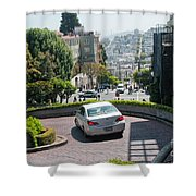 Lombard Street San Francisco Shower Curtain
