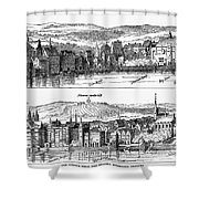London, 16th Century Shower Curtain