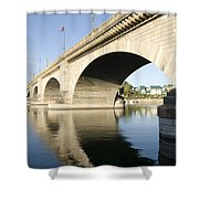 London Bridge II Shower Curtain
