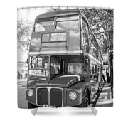 London Bus Shower Curtain