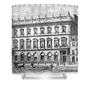 London: Carlton Club, 1868 Shower Curtain