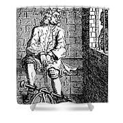 London Debtors Prison - To License For Professional Use Visit Granger.com Shower Curtain