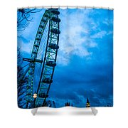London Eye At Westminster Shower Curtain
