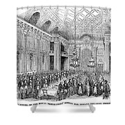 London: Freemasons Hall Shower Curtain by Granger