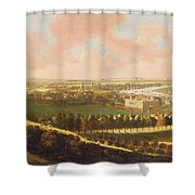 London From Greenwich Hill Shower Curtain