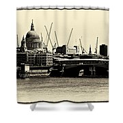 London From The Southbank Shower Curtain
