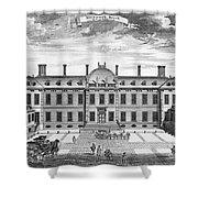 London: Montagu House Shower Curtain