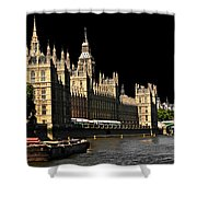 London Parliament Shower Curtain