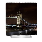 London Southbank View Shower Curtain