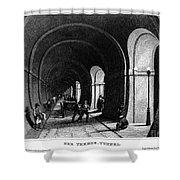 London: Thames Tunnel Shower Curtain