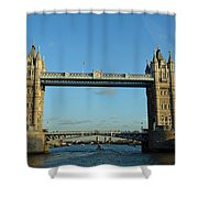 London Tower Bridge Looking Magnificent In The Setting Sun Shower Curtain