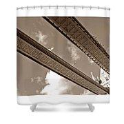 London Tower Brigde 5 Shower Curtain