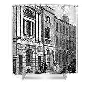 London: Watermans Hall Shower Curtain