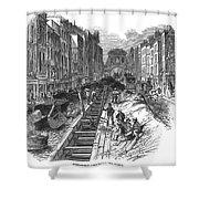 London:fleet Street Sewer Shower Curtain