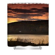 Lone Cabin Shower Curtain