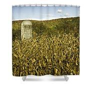 Lone Silo Shower Curtain