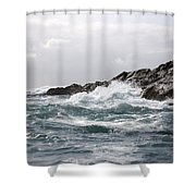 Lonely Cape St. James At Southern Point Shower Curtain