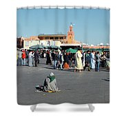 Lonely In Marrakesh Shower Curtain