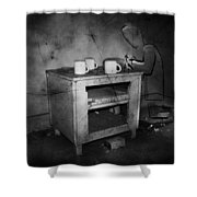 Lonely Prayers  Shower Curtain