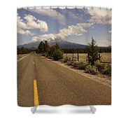 Lonesome Hiway To Shasta Shower Curtain