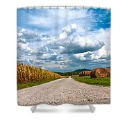 Lonesome Lane Shower Curtain