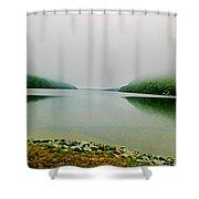 Long Pond Morning Shower Curtain