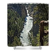 Long River View Shower Curtain