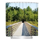 Long Walk Shower Curtain