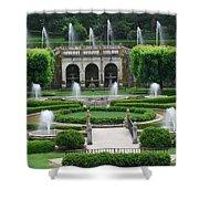 Longwood Fountains Shower Curtain