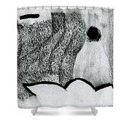 Lonley Shower Curtain